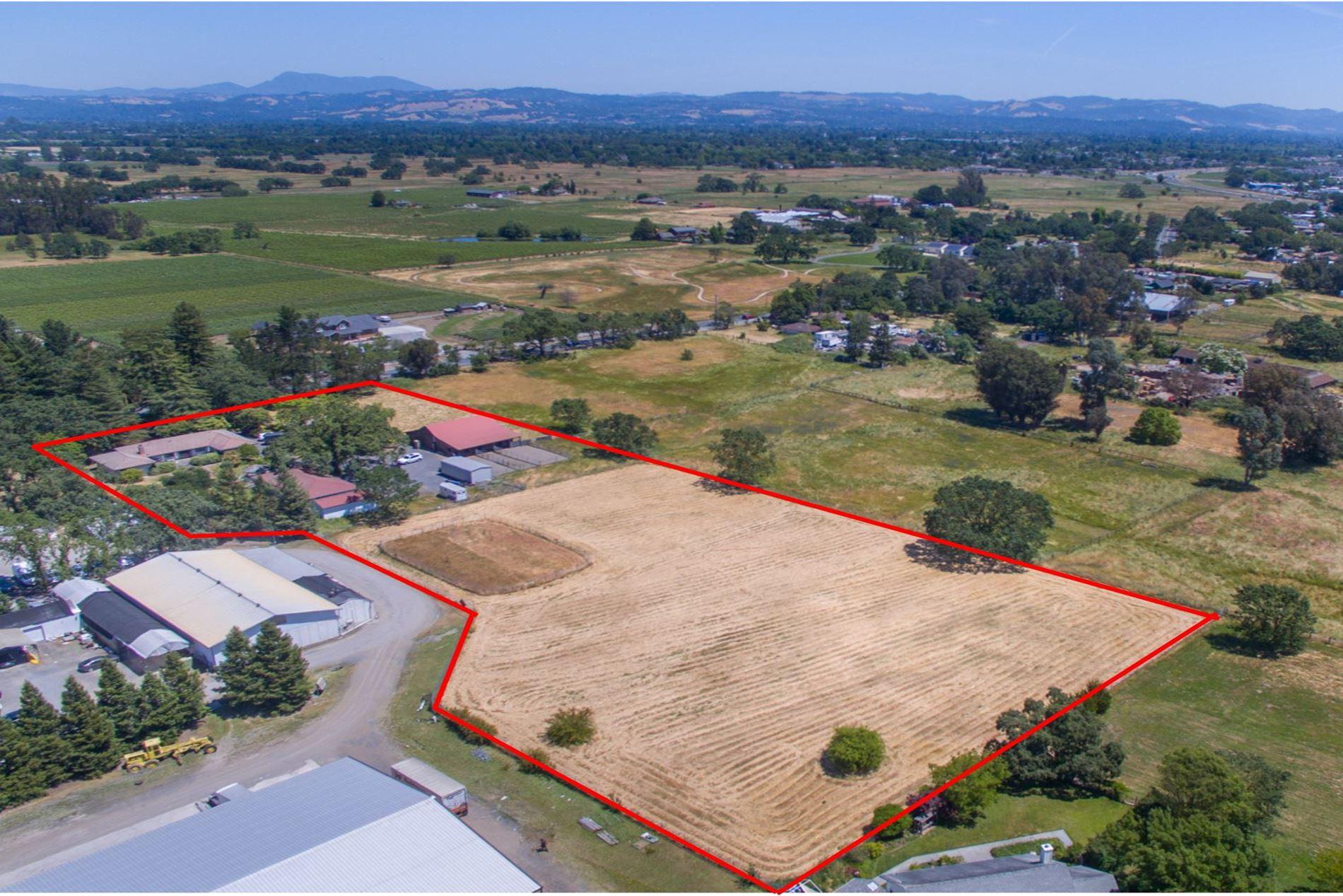 Occidental Road Santa Rosa Horse Property