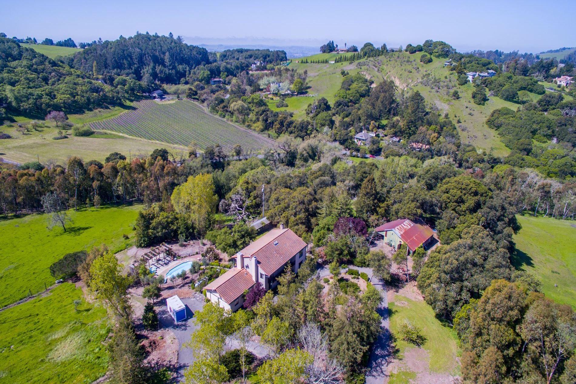 Sonoma Mountain Road Santa Rosa CA Horse Property