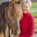 Lisa Thomas with horse