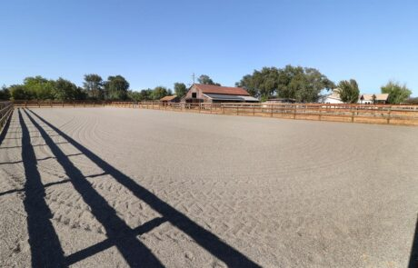 1814 Wood Road Fulton Horse Property Arena to Barn