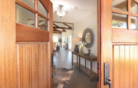 1814 Wood Road Fulton Horse Property Front Doors