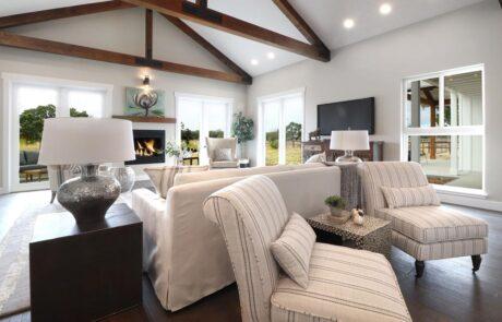 1814 Wood Road Fulton Horse Property Livingroom