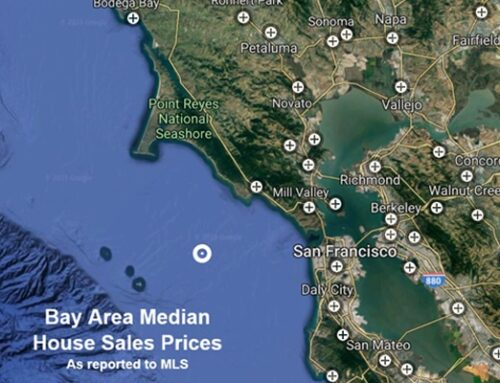 2021 Bay Area Home Price Map
